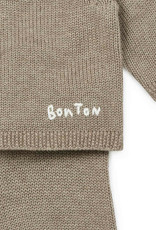 Bonton Cotton and cashmere knitted new-born set