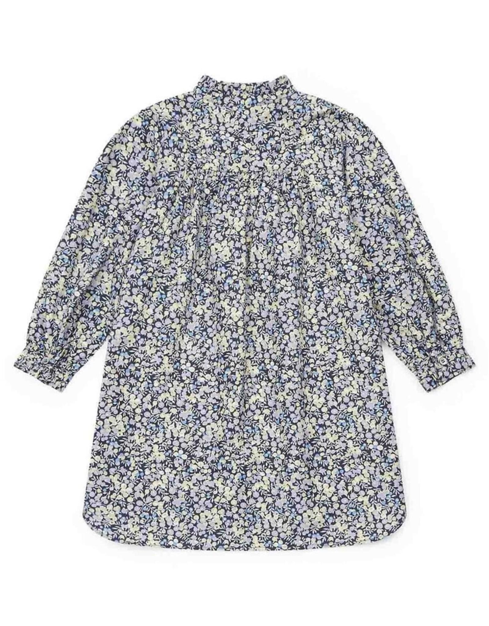 Bonton Mini over-dyed corduroy Danie girl's dress
