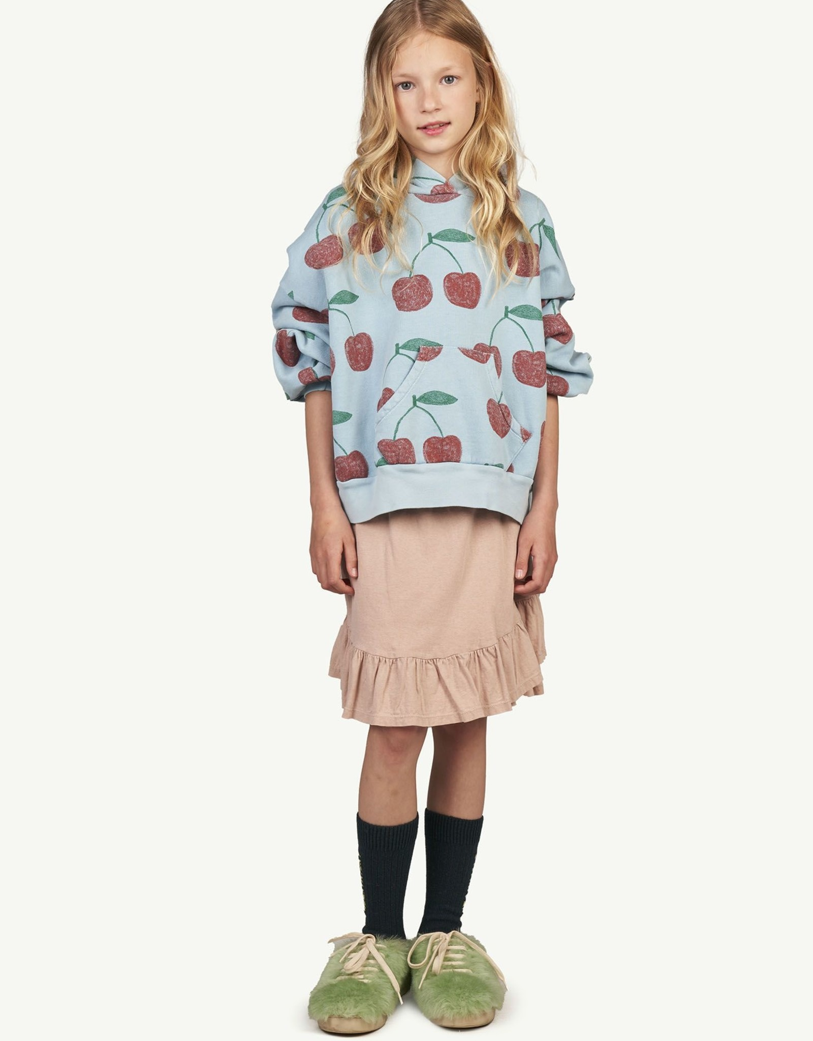 The Animal Observatory Cherries Beaver Sweatshirt