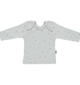 Poudre Organic T-shirt Begonia  - Fleurs Lunar Rock