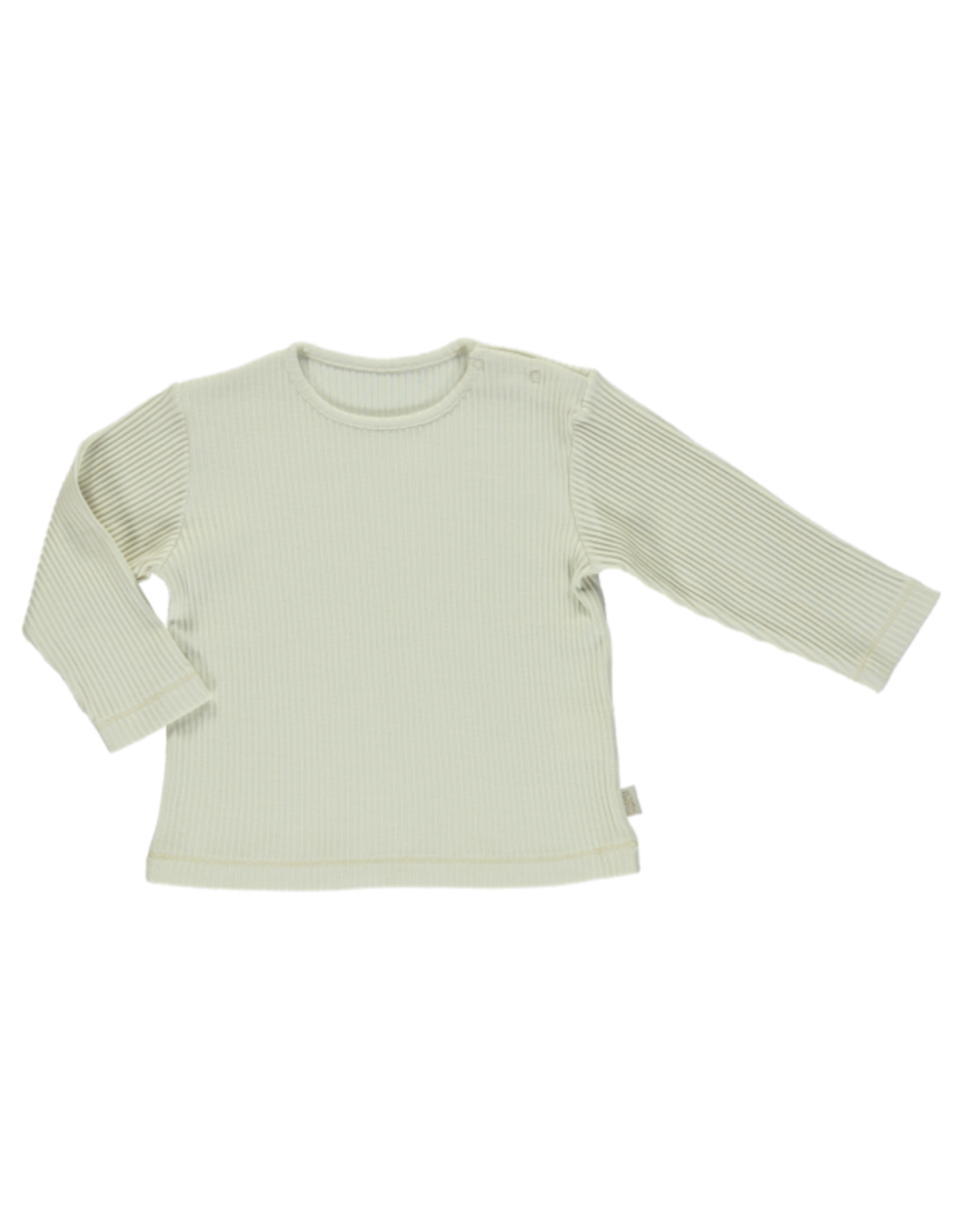 Poudre Organic Olive Ribbed T-Shirt