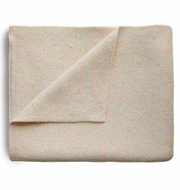 Mushie Couverture Confettis en tricot