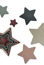 Mushie Nesting Stars Toy