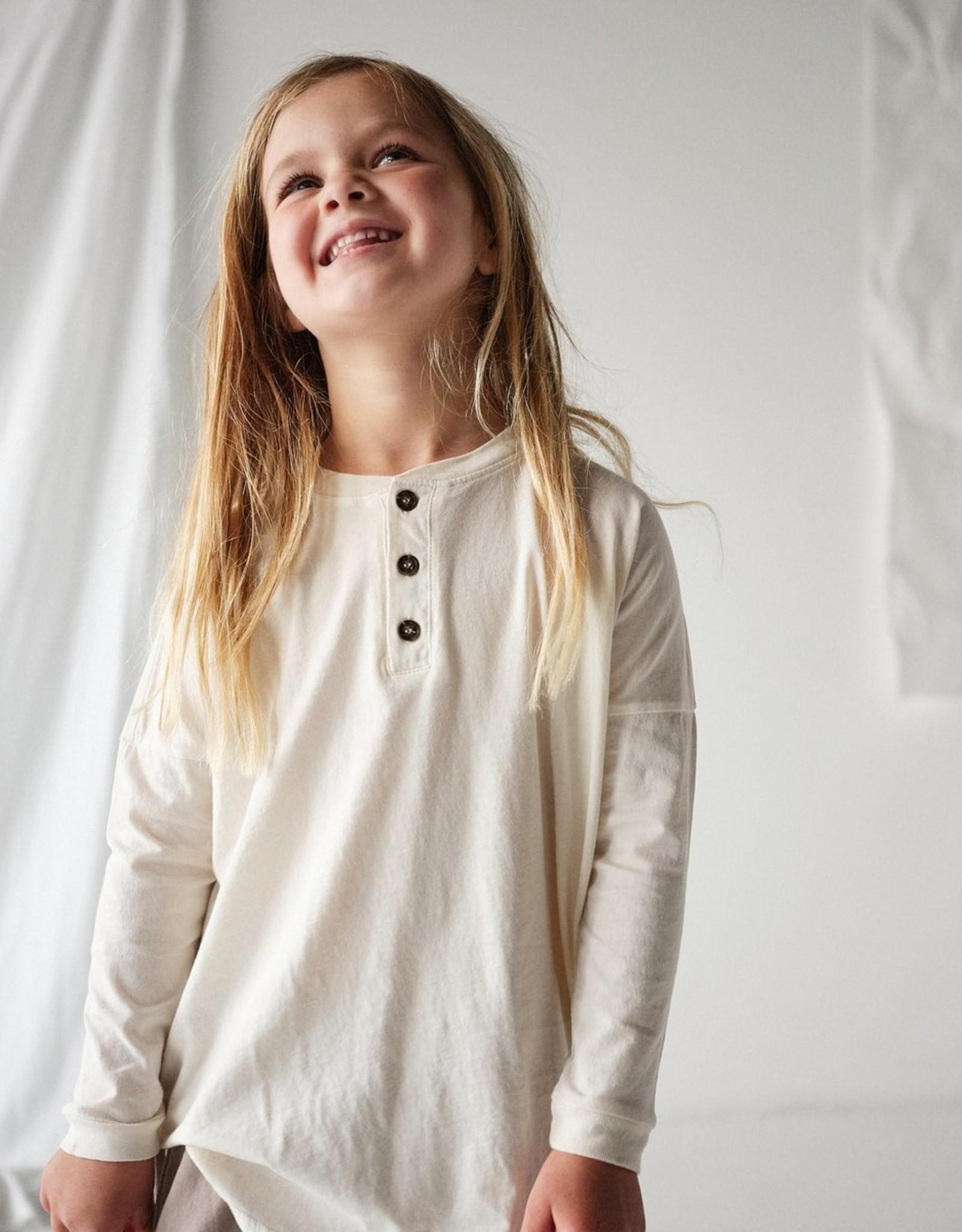 Bacabuche Kids Wide Body Long Sleeve Henley
