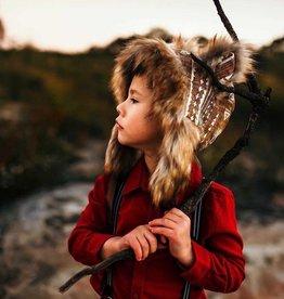 Wolf & The Wildling Lion Bonnet