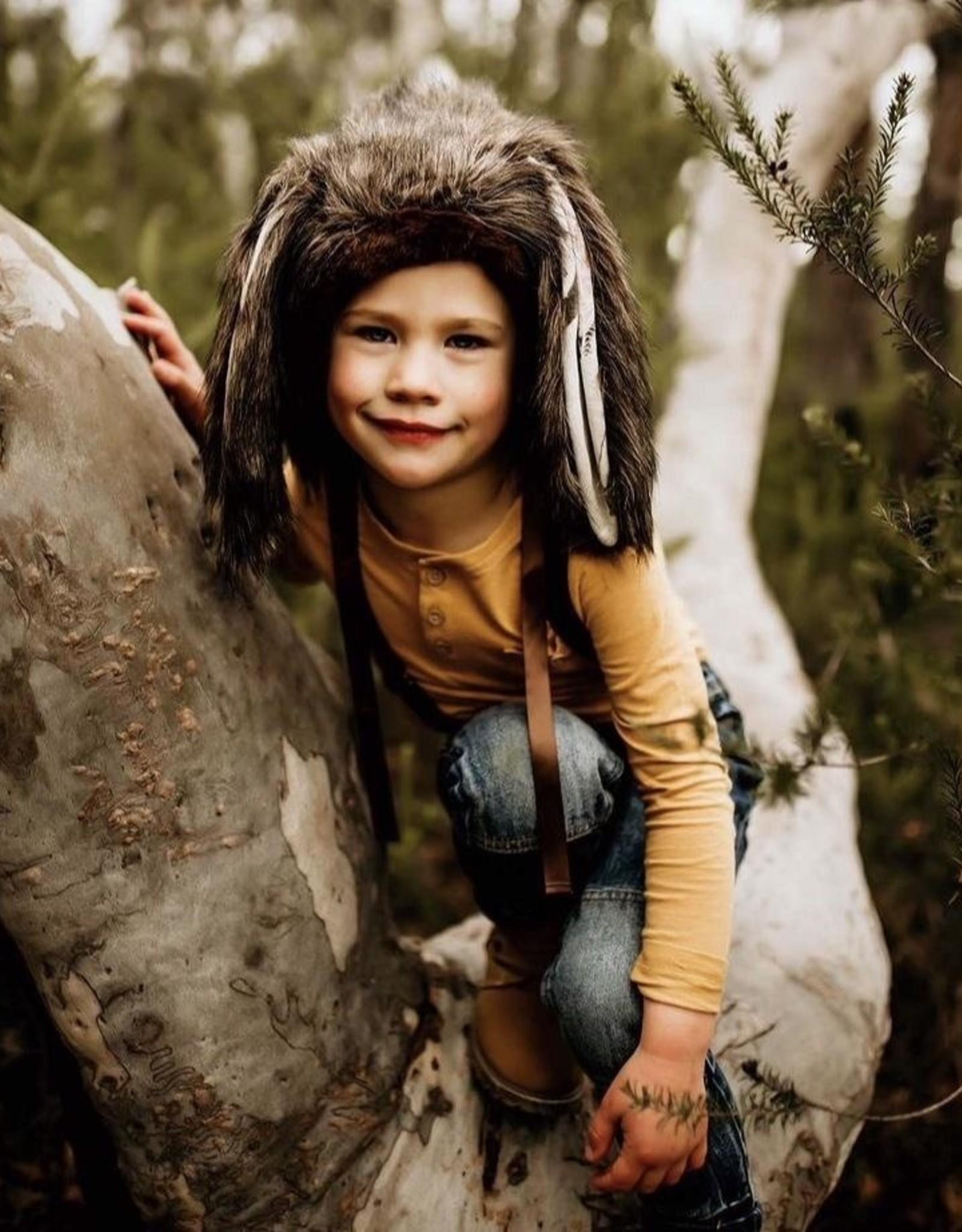 Wolf & The Wildling Bunny Bonnet