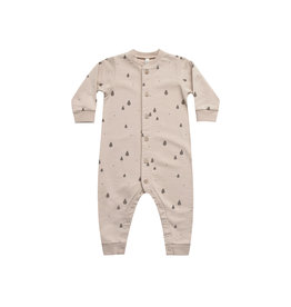 Rylee and Cru Trees Button down jumpsuit