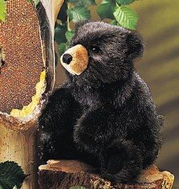 Folkmanis Black Baby Bear Puppet