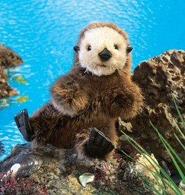 Folkmanis Baby Otter Sea Puppet