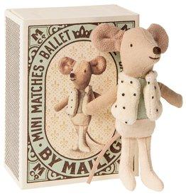 Maileg Petit Frère Danseur dans sa boîte