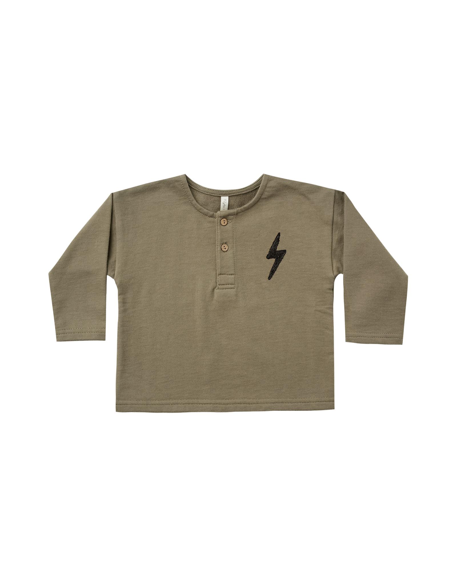 Henley Bolt Sweatshirt