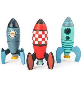 Tender leaf toys Fusées à construire