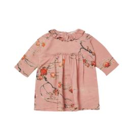 Caramel Edmee Baby Dress
