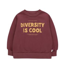 Tinycottons Diversity Is Cool Sweatshirt