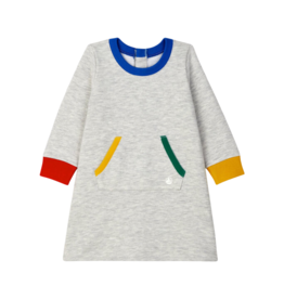 Petit Bateau Babies' Fleece Dress