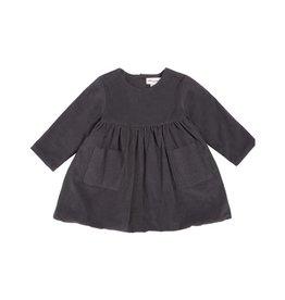 Miles Baby Robe en velours côtelé pour bébé fille