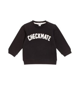 Miles Baby Chandail en chenille « Checkmate »