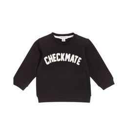 Miles Baby Chandail en chenille « Checkmate » pour bébé