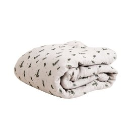Garbo and friends Rosemary Muslin Filled Blanket