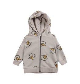 Bobo Choses Birdie All Over zipped hoodie
