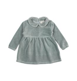 Buho Robe en velours pour bébé