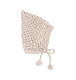 Buho Bonnet en tricot doux pour bébé