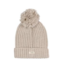 Buho Pompom Soft Knit Hat