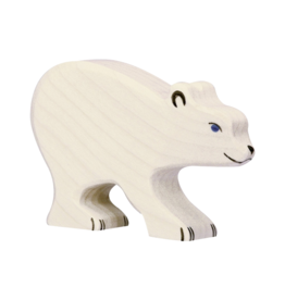 Holztiger Ours polaire