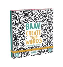 Londji BAM! Wooden Stamps - Create your words
