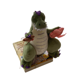 MerryMakers How Do Dinosaurs Say Good Night? - Livre et Poupée