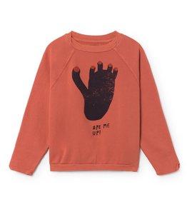 Foootprint ranglan sweatshirt