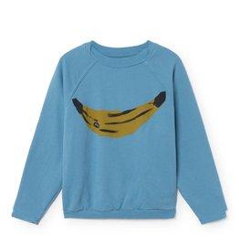 Ranglan sweatshirt, banana print