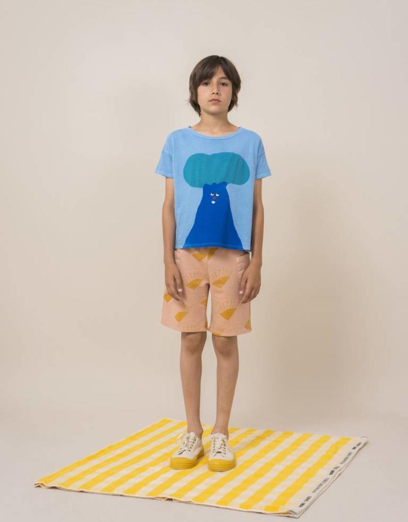 T-shirt à manches courtes, imprimé arbre