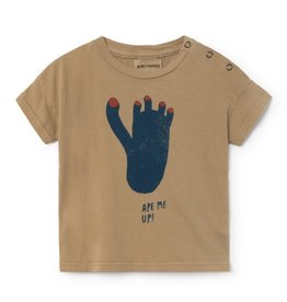 Footprint Baby short sleeve t-shirt