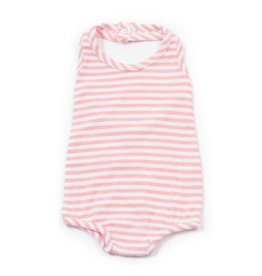 Striped sweat baby swimsuit