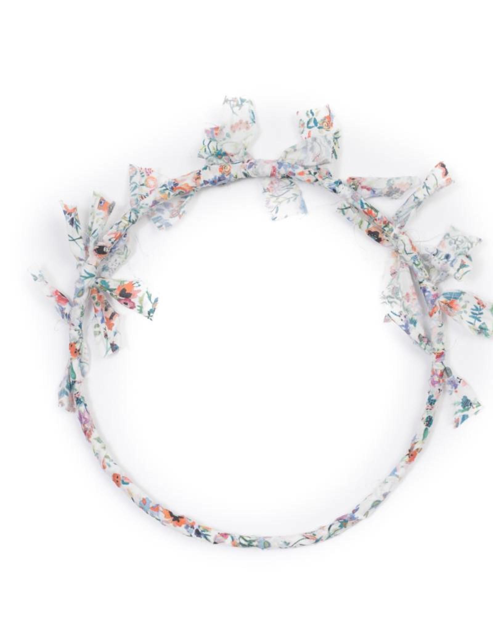 Liberty crown, flowers print