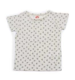 T-shirt, imprimé fleurs