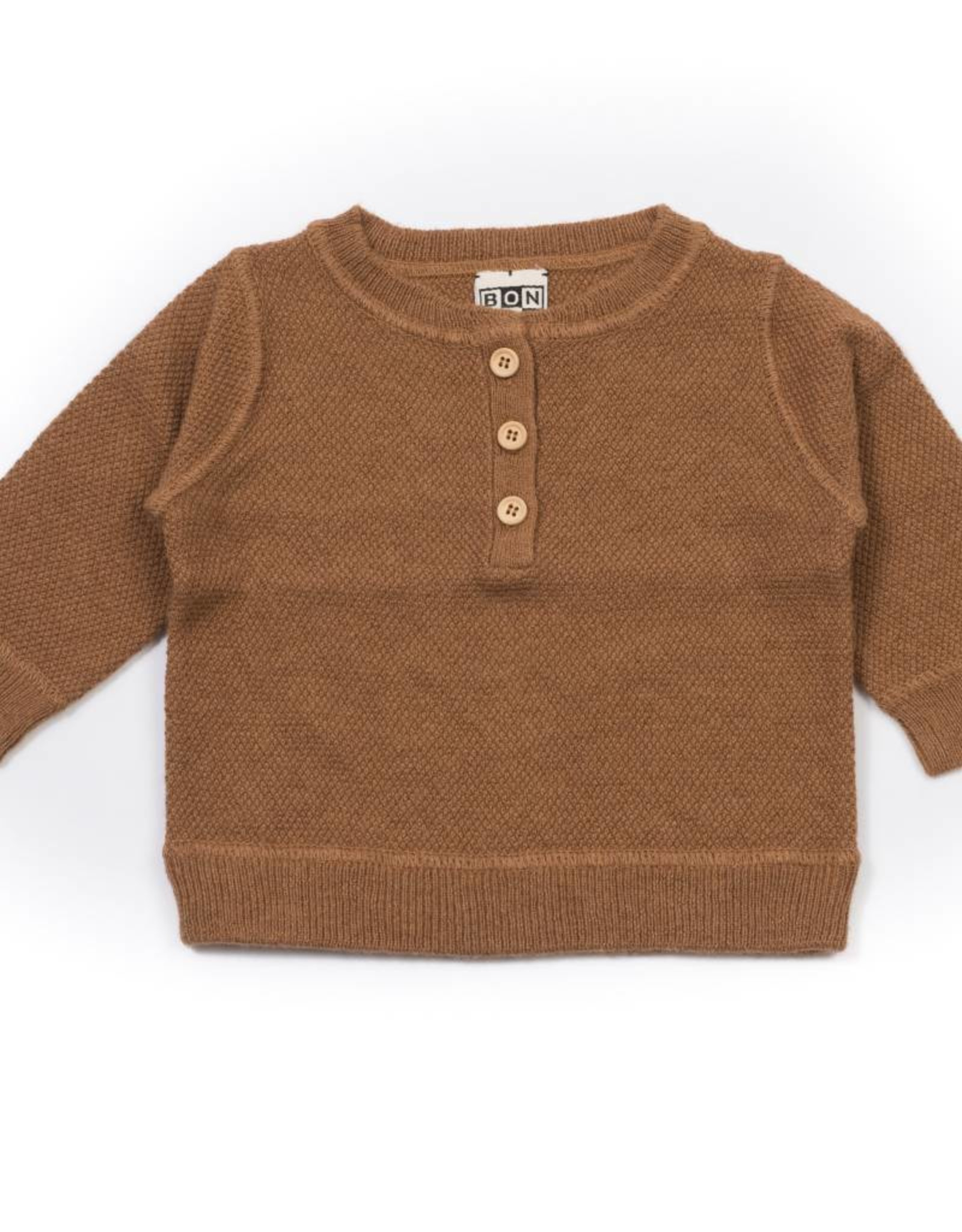 Baby buttons sweater