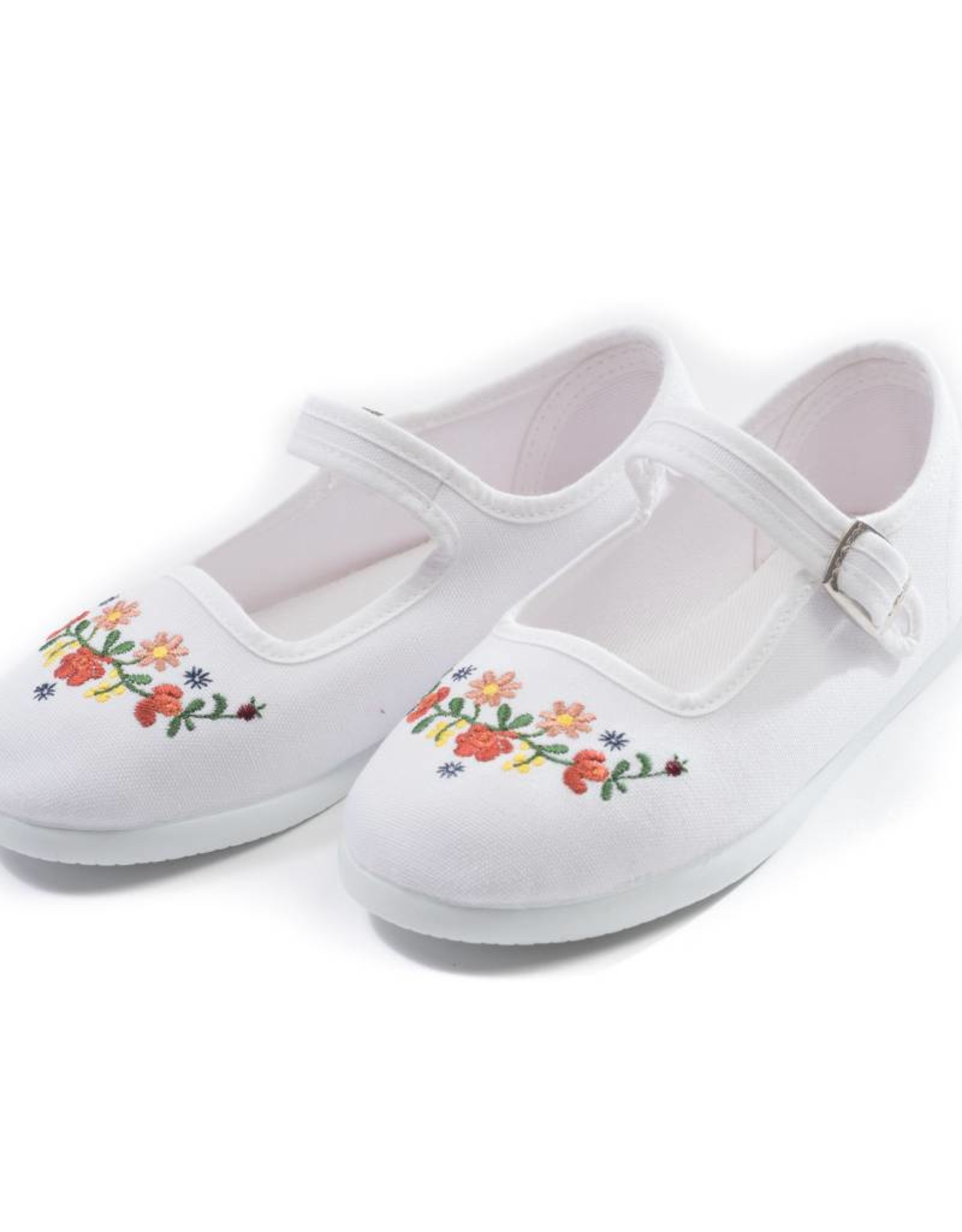 Embroidered shoes