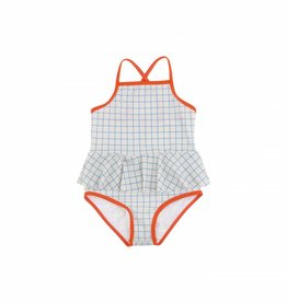 Tinycottons Grid swimsuit