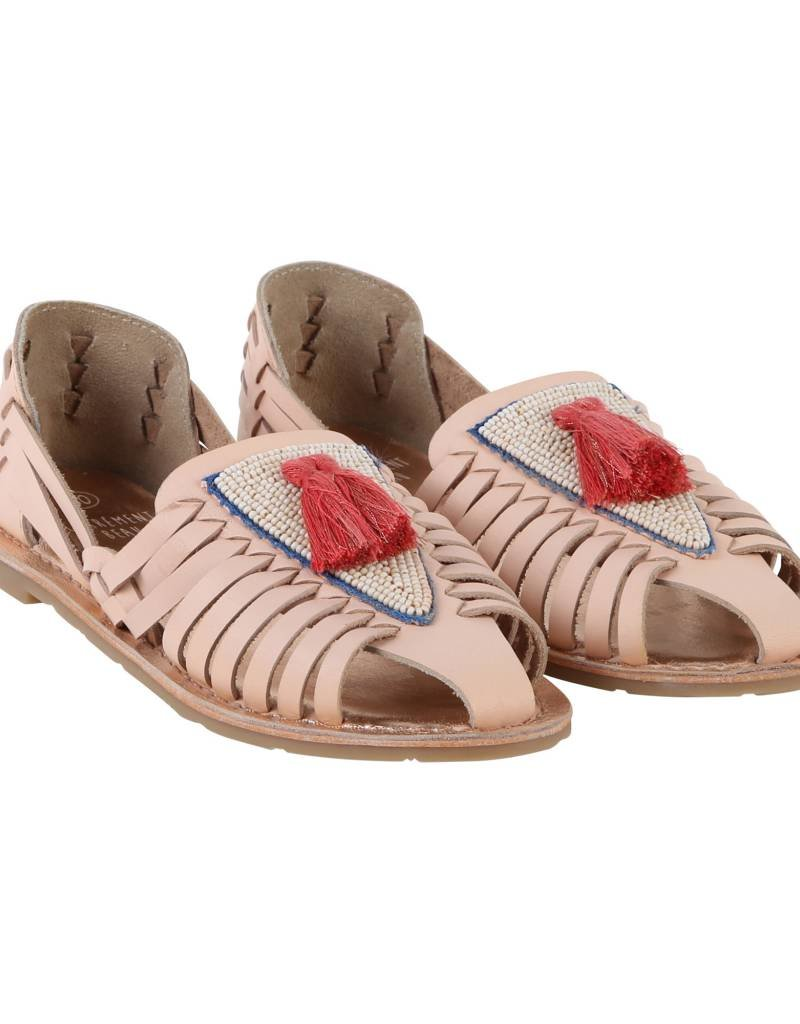 Tassel Leather sandals