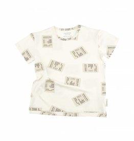 T-shirt, imprimé factures