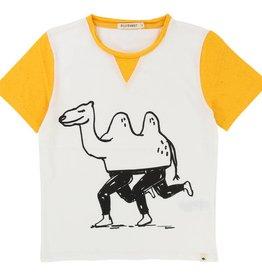 T-shirt, camel print