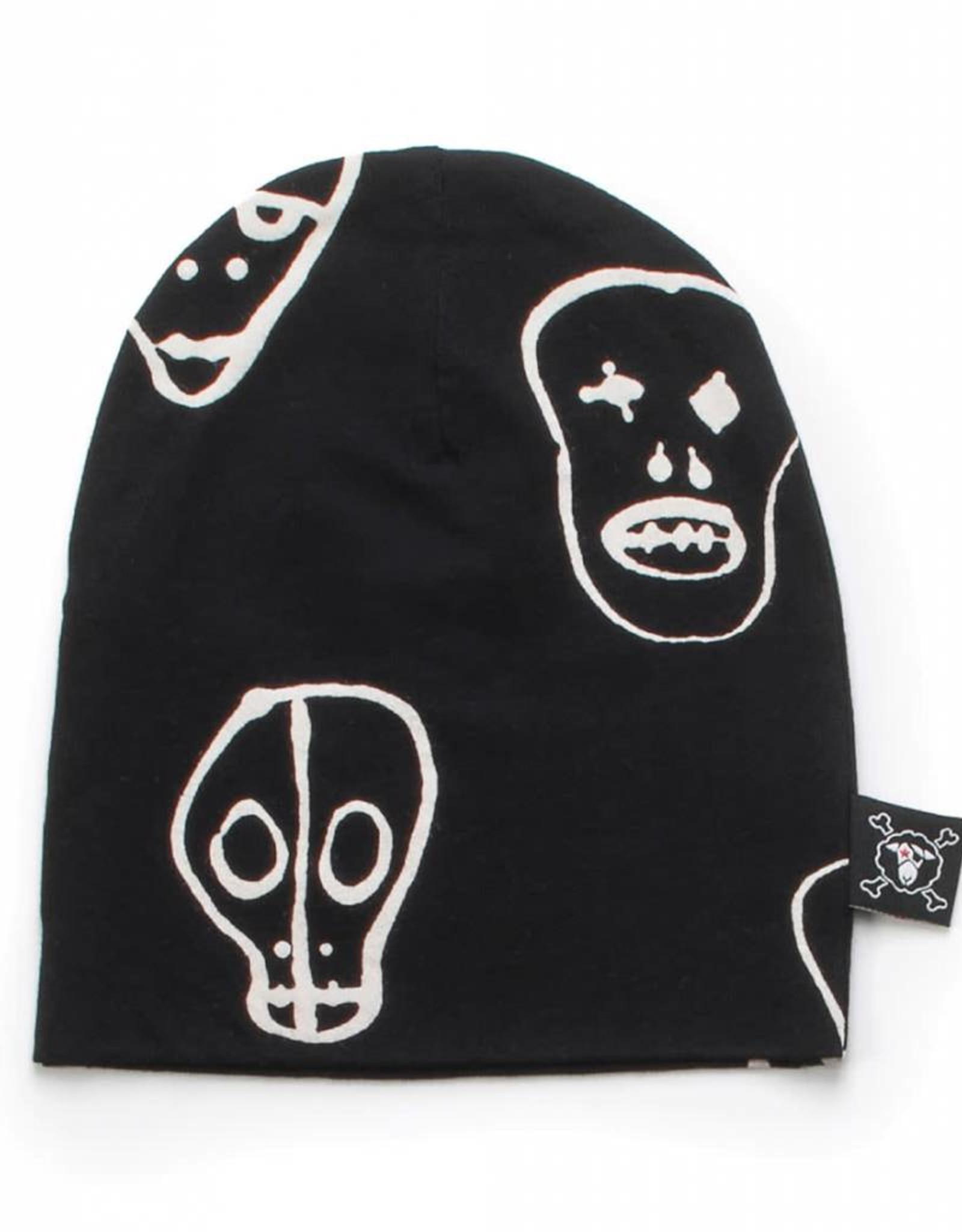 Beanie hat, skull print