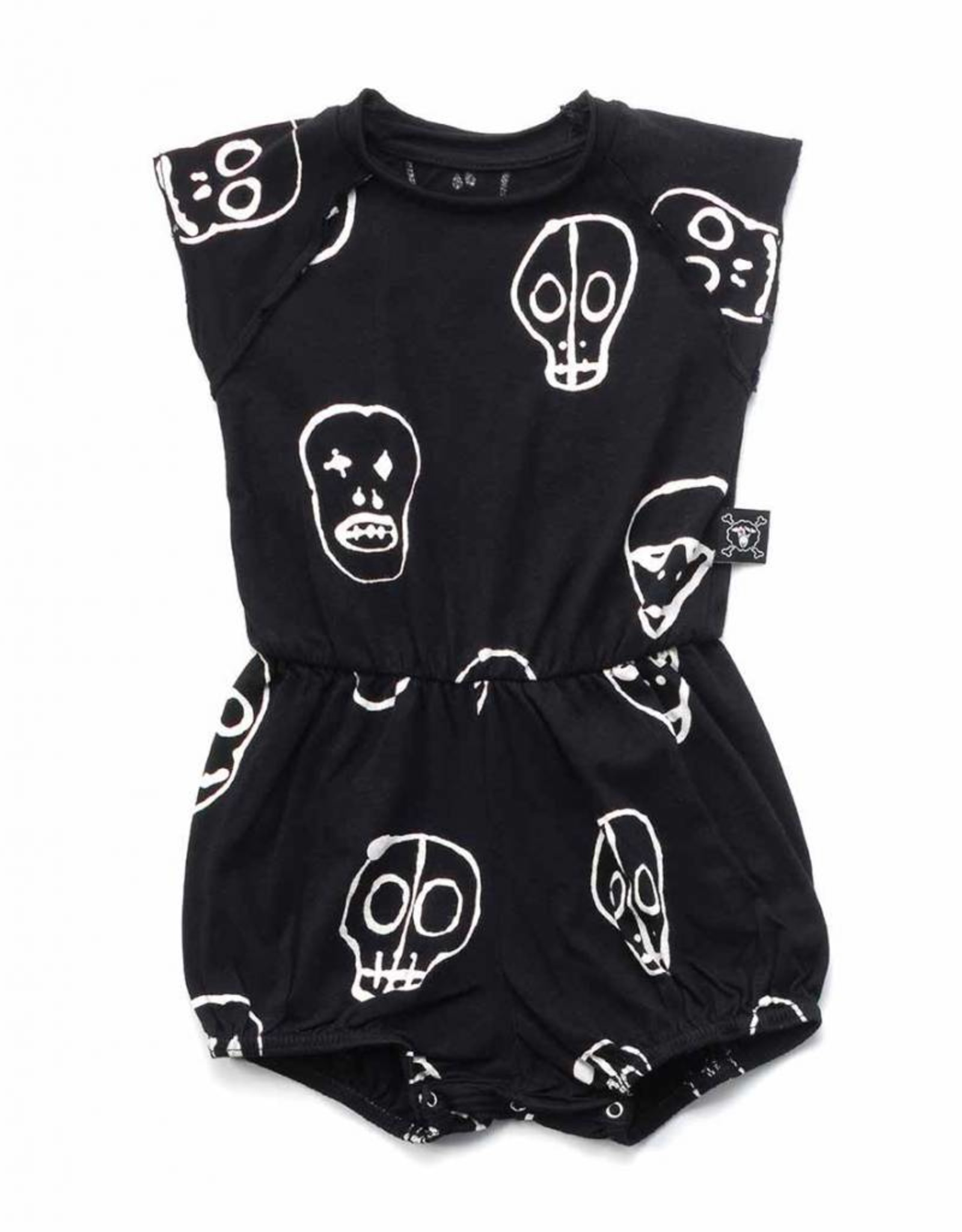 NuNuNu Skull mask yoga overall