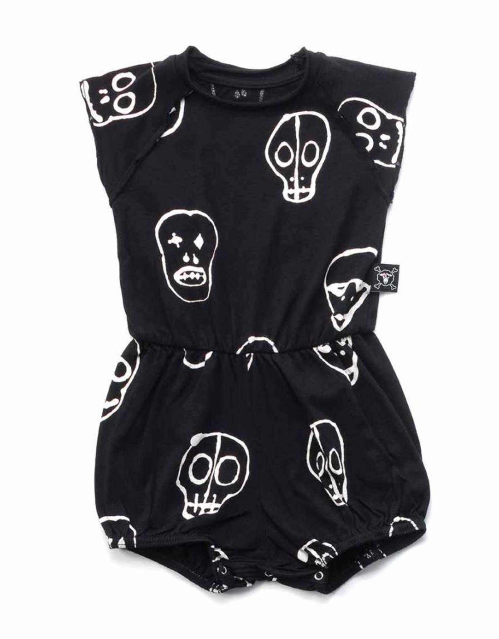 Skull mask yoga overall