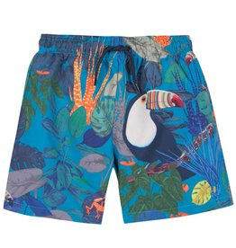 Boys Racky palms swim short