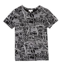 T-shirt instruments imprimés