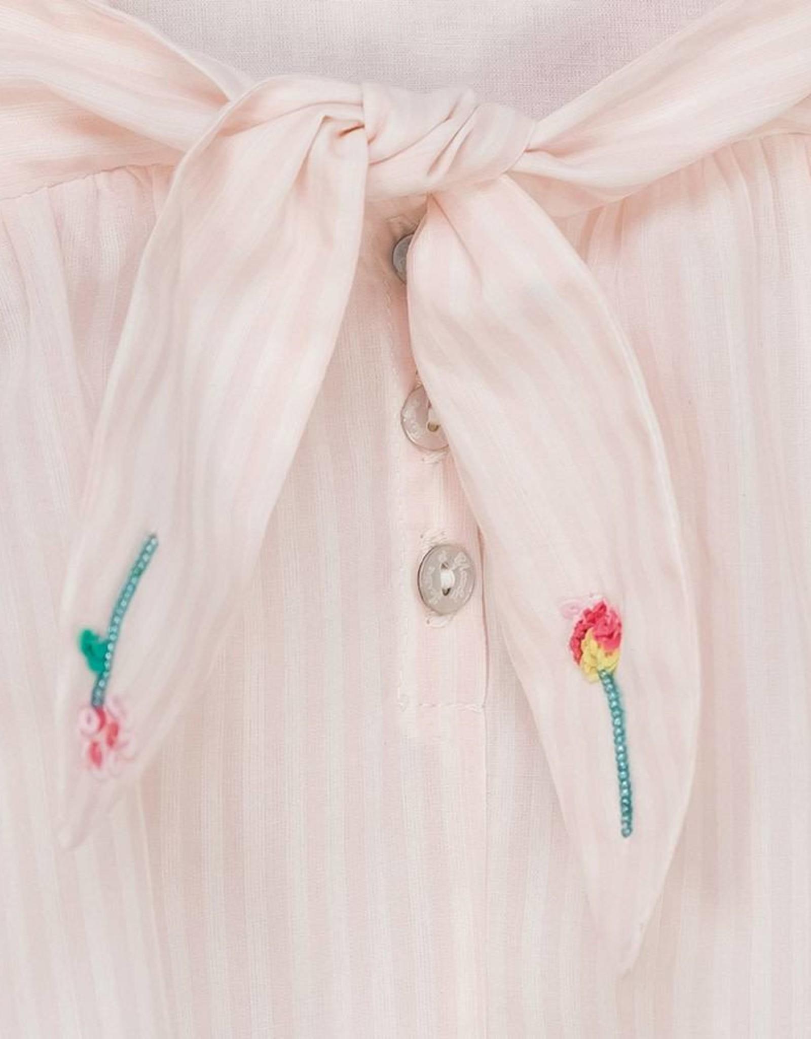 Tunique libellule rose pâle