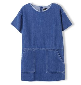 Robe en denim Bubble